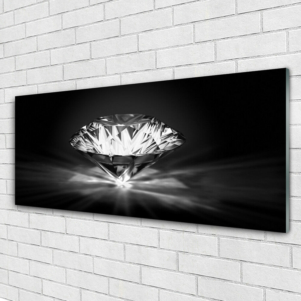 Tableau murale Impression sous verre 125x50 Art Diamant