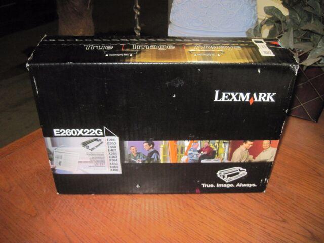 GENUINE Lexmark E260X22G Drum e260 e360 e460 x260 x360 x460 NEW SEAL!!! FREEship