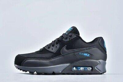 Hotel Brutale pasticceria  Nike Air Max 90 UK 8 EUR 42.5 Black Imperial Blue Dark Grey New CN0194 001  91209926987 | eBay