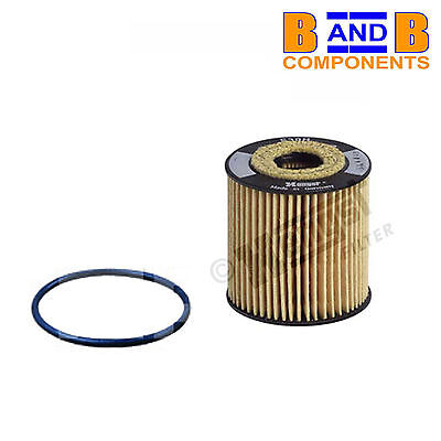Bosch 1457429127 Quality Service Oil Filter Element