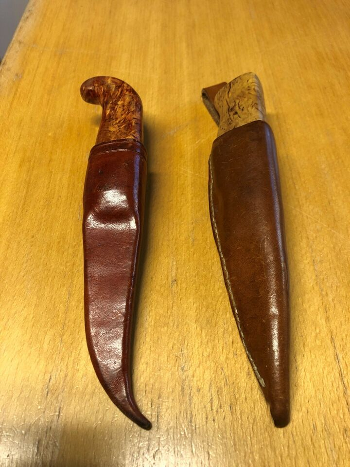 Jagtkniv, håndlavet