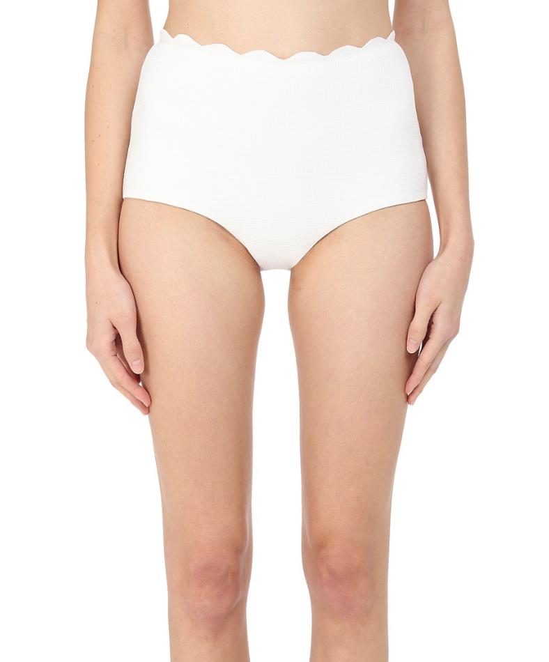 Marysia para mujeres cintura alta blancoo Apagado  Palm Springs prenda inferior de bikini Talla L 1026  100% precio garantizado