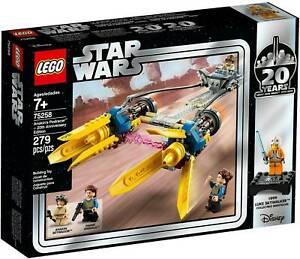 Star-Wars-ANAKIN-039-S-PODRACER-20th-Anniversary-Edition-Lego-NEW-75258
