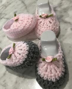 Baby Girl Booties Shoes crochet