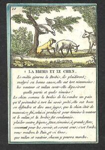 Card-Wood-Grave-Fable-Illustrated-Aesop-the-Fountain-Ewe-Dog-fin18e-deb19e