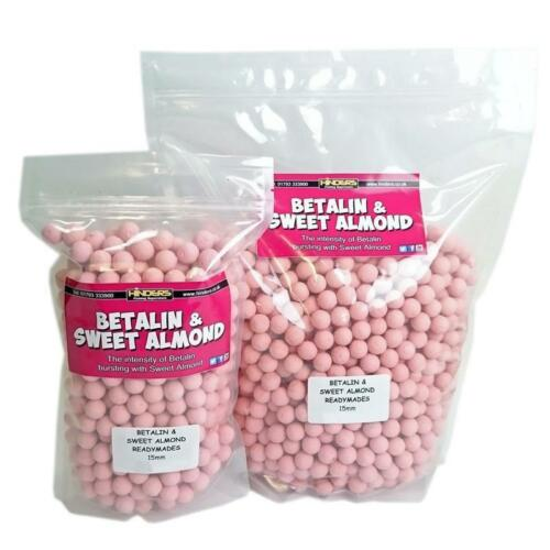 Hinders Betalin /& Sweet Almond Ready-Made Boilie Range