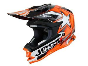 Casque-Just1-J32-Motorrad-X-Orange-Taille-YS-47-48-cm-STREETMOTORBIKE