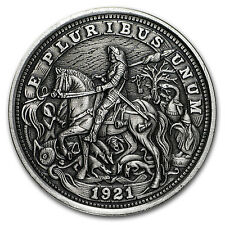 1 oz Silver Antique Hobo Nickel (Knight, Death and The Devil) - SKU #116133