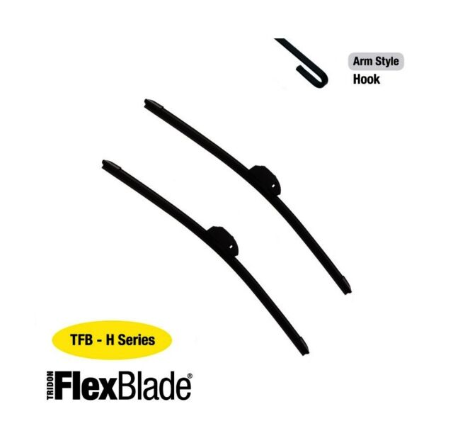 Tridon Flex Wiper Blades for BMW M3 E46 06/01-02/05 22/20in