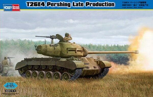 1 35 T26E4 Pershing Late Production Hobby Boss 82428 Models kits