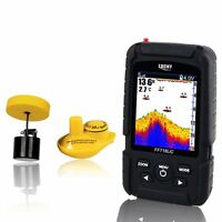 Ff718lic Lcd Display Wireless Sonar&wired Transducer Fish Finder 100 Metre Range