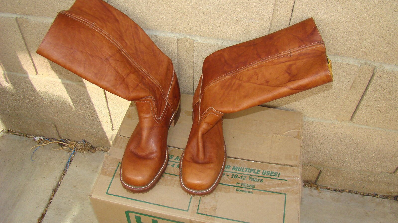 Frye Cuero Creek botas Tamaño  9M Hecho en en en EE. UU.  estilo clásico