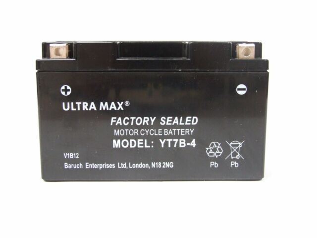 ULTRAMAX Gel Battery YT7B-BS For Ducati Panigale 1199 S Tricolore ABS 2012