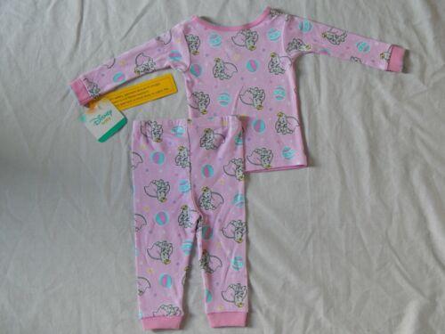 Disney Dumbo movie 2pc Sleep Set Pajamas Outfit NEW Baby Elephant Girls Sizes