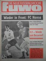 FUWO 42 - 17.10. 1967 * Pankau DDR-Dänemark 3:2 Zwickau-1.FCM 5:0 Erfurt-Aue 5:1