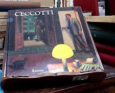 Sergio Ceccotti. Peintures -  Editions Ramsay,1992 autografato