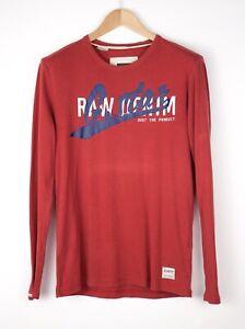 G-Star Raw Herren Datsun Freizeit Sweatshirt Pullover Größe L AOZ896