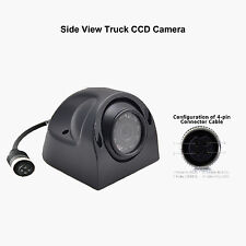 Waterproof 4Pin Side Rear View CCD Camera Parking Cam For Truck Trailer Monitor