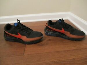 685a9c8f43 Used Worn Size 11.5 Nike Air Max Ltd 3 Shoes Black Rust Factor Blue ...