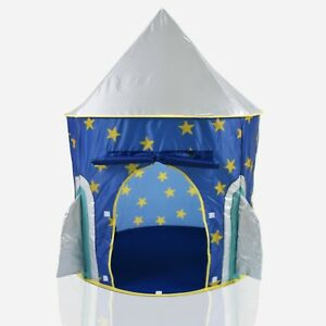 Playhouse Childrens Pop Up Castle Suitable for Indoor /& Outdoor Use Den Boys Blue Toy Play Tent