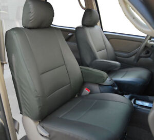 Super Details About Toyota Tundra 2000 2003 Charcoal Leather Like Custom 2 Front Seat Arm Covers Uwap Interior Chair Design Uwaporg