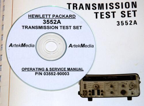 HP 3552A Transmission Test Set Ops /& Service Manual
