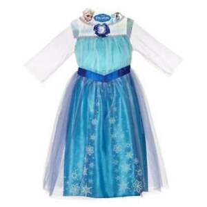 Image is loading New-Disney-Frozen-Elsa-Costume-Dress-Up-4-  sc 1 st  eBay & New Disney Frozen Elsa Costume Dress Up 4-6X | eBay