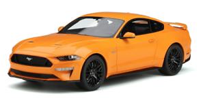1 18 GT Spirit Ford Mustang Gt En Naranja Fury GT205