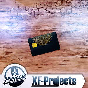 Ornament-Karten-Skin-Bankkarte-Geldkarte-Design