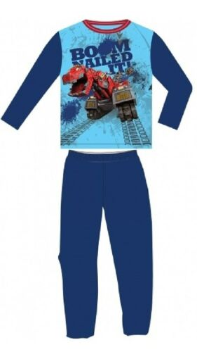 NEW OFFICIAL DINOTRUX PYJAMAS 2-6 Years Young Boys Kids Children Pjs Gift
