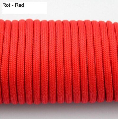 10 M Paracord Cord Cordage PP ficelle 3 mm pour Survival Bracelet 0,90 €//M