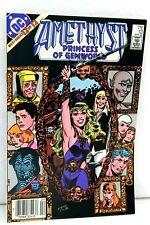 Amethyst Princess of Gemworld Annual #1 FN 1984 Stock Image