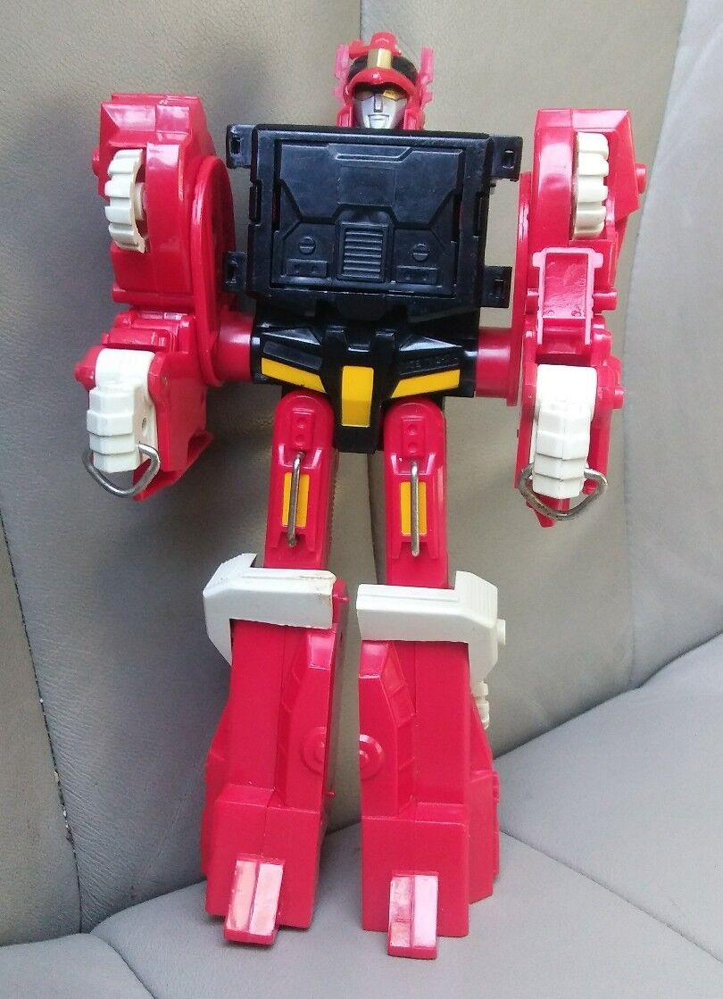 RARE 1994 ROYAL CONDOR STAR WARRIOR II TRANSFORMER DRAGON DEATHSAURUS  RED SEIGE