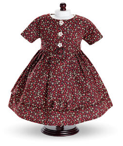 Dress-Vintage-Afternoon-Carpatina-Doll-Clothes-18-034-Fits-American-Girl-Dolls