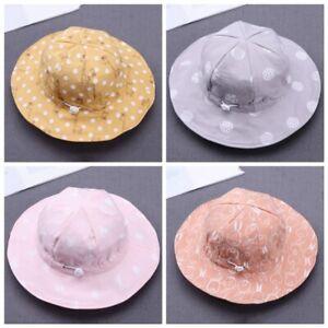 Toddler-Baby-Sun-Hat-Summer-Beach-Hat-Bucket-Cap-Newborn-Boy-Girl-Hat-0-4Y-AU