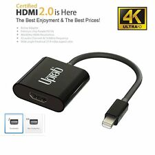 Mini DisplayPort 1.2 to HDMI 2.0a 4k@60hz Active Adapter
