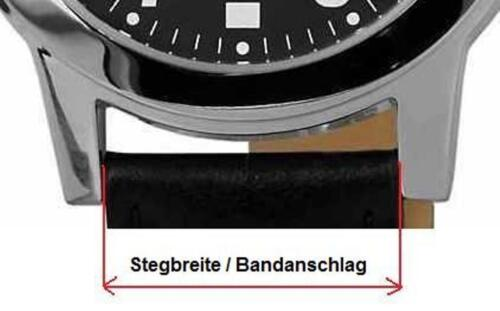 4 Stück 20mm Eichmüller Edelstahl Federstege 1,3mm Ø für Uhren Armbänder