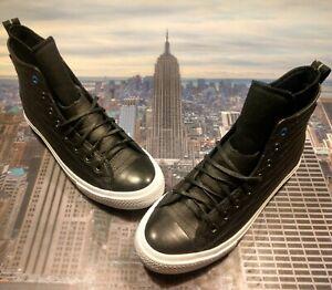 08344a2ae Converse Chuck Taylor All Star WP Boot Hi High Black White Size 8.5 ...