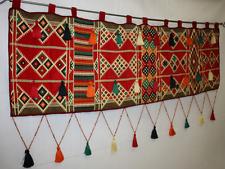 Orientalischer Wandbehang,Wandbild,Kelim,Quaste ,Orientalische Sitzecke,Sofa,Neu
