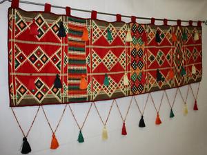 orientalischer wandbehang wandbild kelim quaste. Black Bedroom Furniture Sets. Home Design Ideas