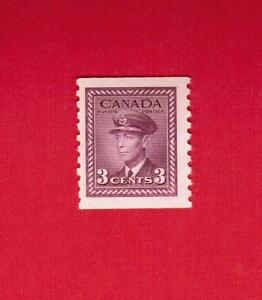 1948  #  280 ** FVFNH  TIMBRE  CANADA  STAMP KING GEORGE VI COIL
