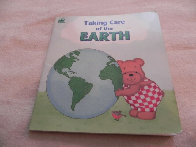 Taking Care of the Earth By Billy Goodman, 1992 Western Publishing