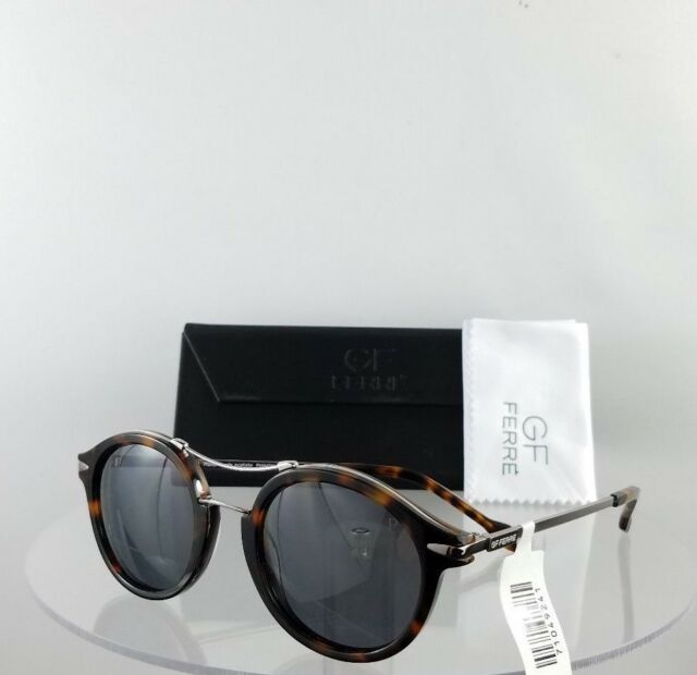 Authentic 002 Tortoise Sunglasses Ferre Gff Frame 1049 Gf Silver 48mm fY6gyb7