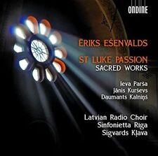 ERIKS ESENVALDS: ST. LUKE PASSION; SACRED WORKS NEW CD