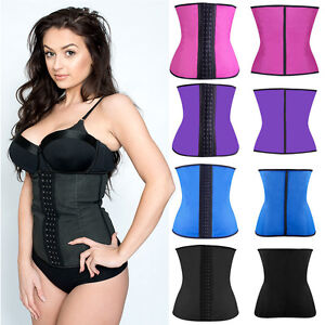 Sport latex waist cincher uk