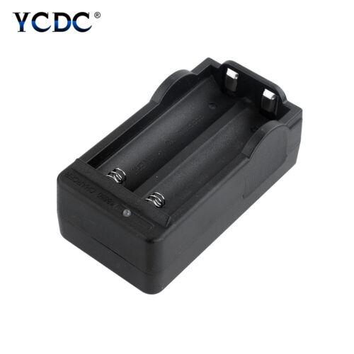 Universal Li-ion Battery 18650 Charger For Flashlight Torch 2 Slots US Plug 717