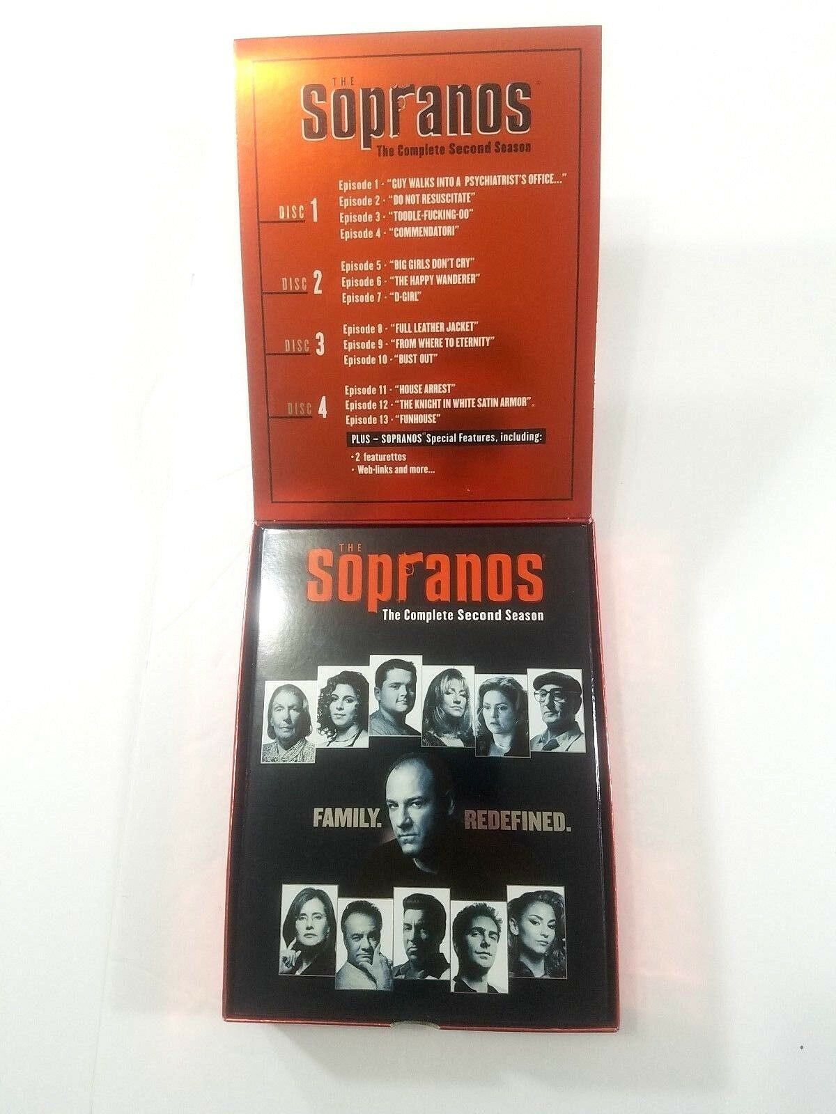 The Sopranos - The Complete First, Second, and Third Seasons (DVD, 2003,  12-Disc Set, Ultimate TV Bundle Pack)