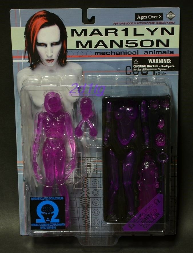 MARILYN MANSON - Mechanical Animals LIMITED EDITION 666   Pink Ver. Figure