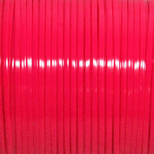 100 YARDS (91m) SPOOL NEON RED REXLACE PLASTIC LACING CRAFTS CYBERLOX