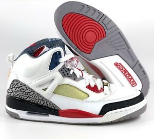 timeless design d0cb9 57e8b Image is loading Nike-Air-Jordan-Spizike-Mars-Blackmon-White-Fire-